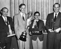 Old photo of winners