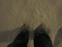 Just a bit of snow..