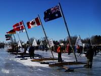 Opening Ceremony - Flag Raising 2007 DN World Championships